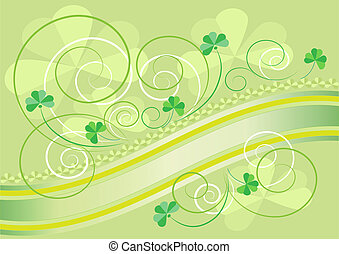 Cards on the day of  Saint Patrick
