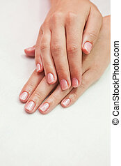woman nails - care for sensuality woman nails