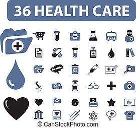 care, gezondheid, 36, tekens & borden