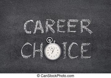 career choice watch