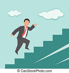 Career. Concept business illustration