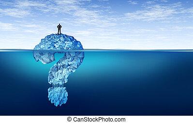 Career Confusion - Career confusion and confused businessman...