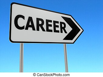 Career - Rendered artwork with white background