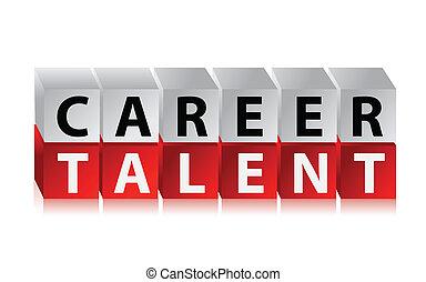 career talent cubes