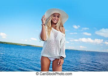 Carefree female
