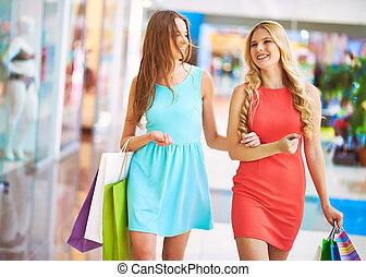 Carefree shopaholics