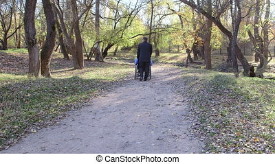 disabled senior in wheelchair