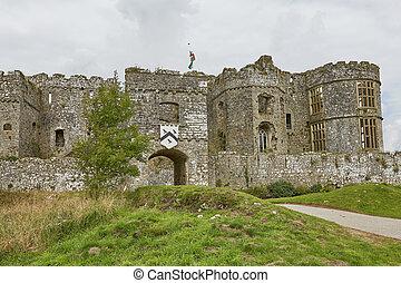 carew, pembrokeshire, england, 英國, 城堡, 威爾士