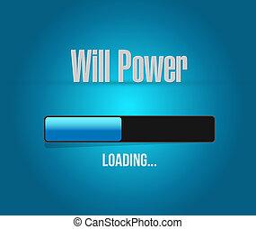 carga, barra, potencia, señal, voluntad, concepto