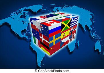 carga, global
