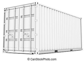 cargaison, container.