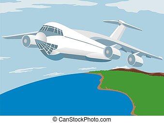 cargaison, lignes aériennes
