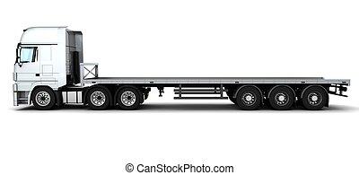 cargaison, livraison, véhicule