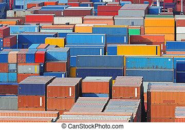 cargaison, port