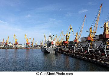 cargaison, port maritime