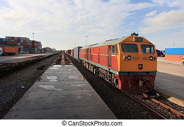 cargaison,  train