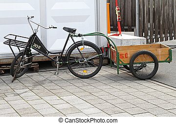 cargaison, vélo