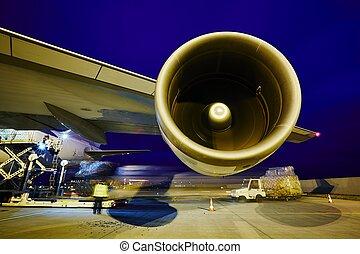 Cargo airplane