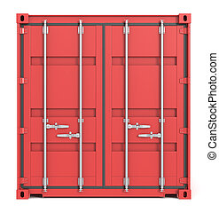 Cargo Container Front.