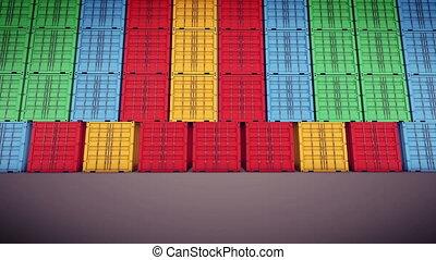 """""""Cargo Container is Opening Doors"""""""