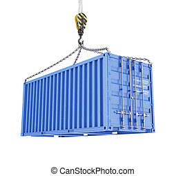 Cargo container loading