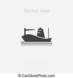cargo, icône