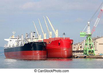 cargo, indulgence, port