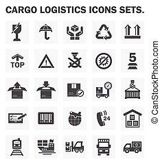 cargo logistics icon