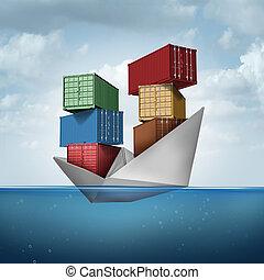 cargo, océan