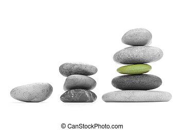 Cargo of the responsibility - Monochrome sea stones (the...