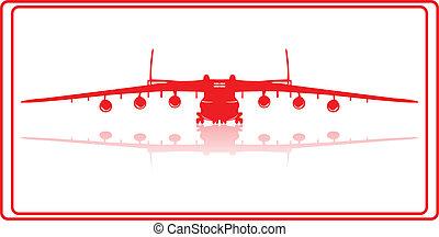 Cargo plane.