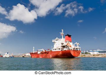 cargo, port