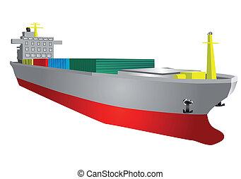 Cargo ship Vector Clipart EPS Images. 20,457 Cargo ship ...