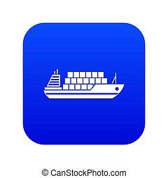 icon digital blue