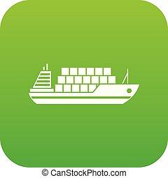 icon digital green
