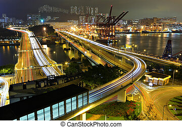 Cargo Terminal and highway