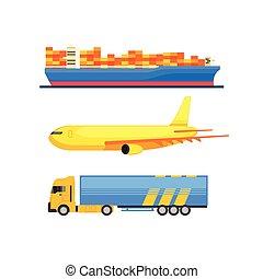 Cargo Transportation Set