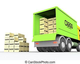 Cargo-truck #1.
