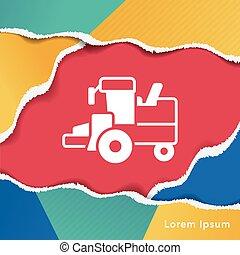 cargo truck icon