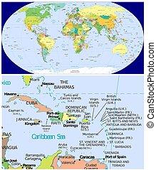 Caribbean and World