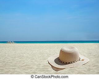 Caribbean beach hat