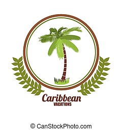 Caribbean Design - Caribbean  Design, vector lllustration