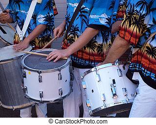 Caribbean drums