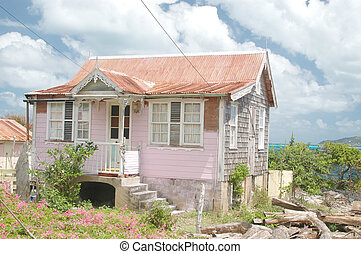 caribbean house 153 - typical caribbean gingerbread house