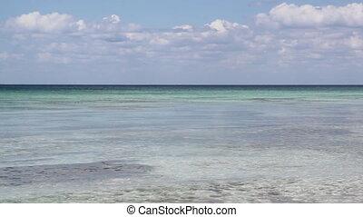 Caribbean ocean.