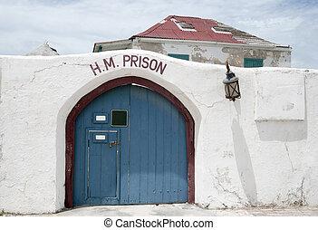 Caribbean Prison - The old historic prison in Cockburn Town ...