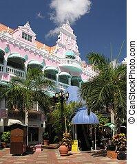 Caribbean Style - Caribbean architecture in Oranjestad / ...