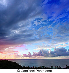Caribbean Sunset Puerto Rico
