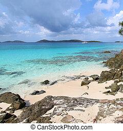 Caribbean View from Saint John