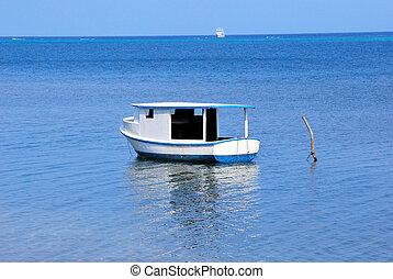 Caribbean waters.